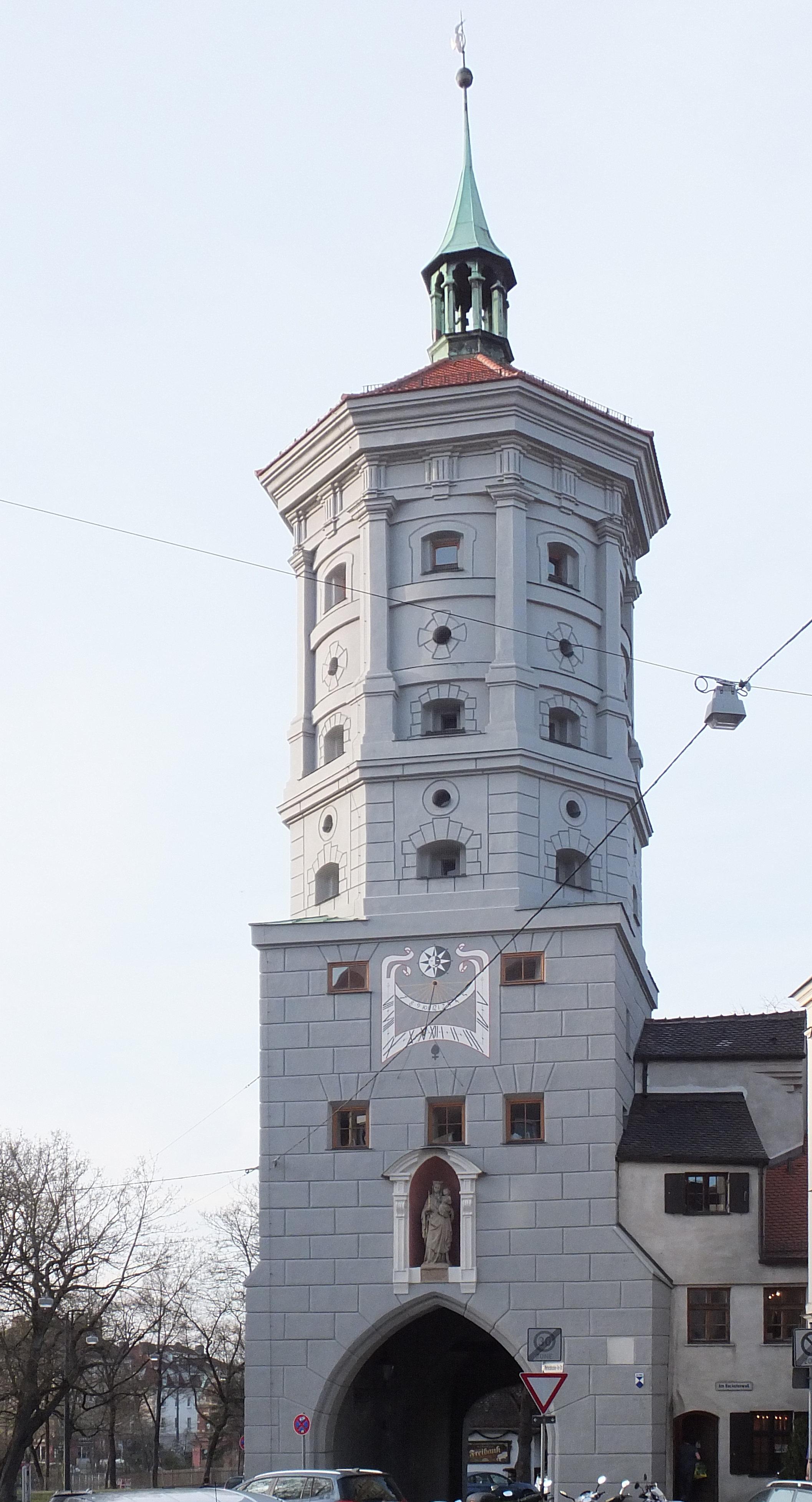 Schreiner Augsburg wertachbrucker tor der schreinerturm schreiner innung augsburg