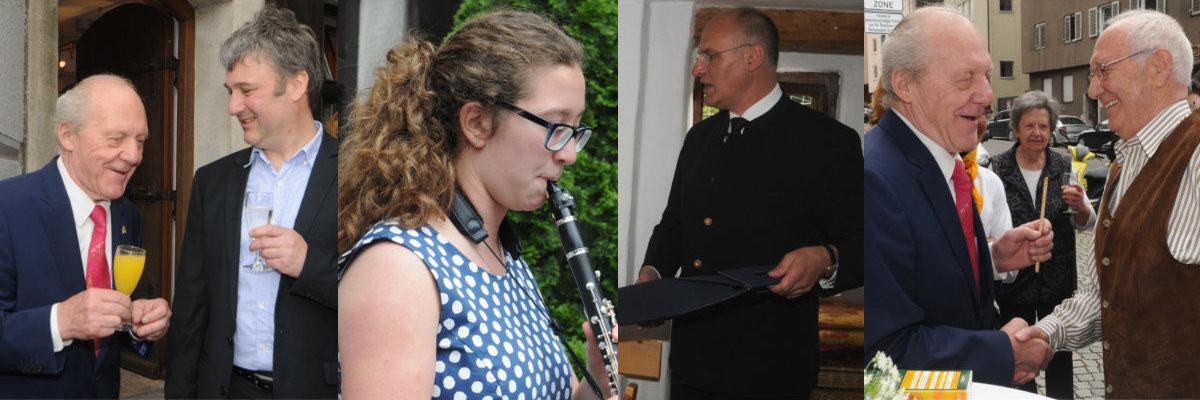 Schreiner Augsburg innungsfeier am 04 juni 2017 im wertachbrucker tor turm schreiner